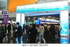 上海(中国)电子展展馆入口