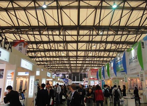 上海电子展亚洲馆盛况